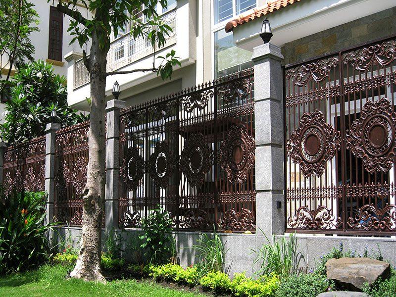 Những mẫu hàng rào đẹp mắt cho ngôi nhà của bạn