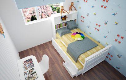 Chọn nội thất phòng ngủ phù hợp cho căn phòng nhỏ