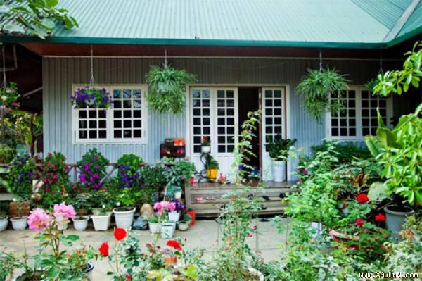 Trang trí ngoại thất cho ngôi nhà