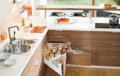 Nội thất phòng bếp tiết kiệm không gian