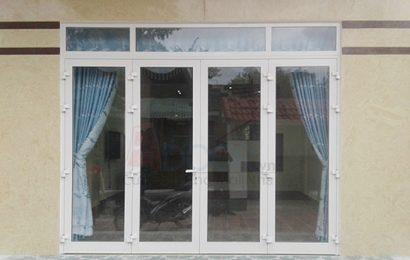 Showroom cửa nhựa lõi thép tại đà nẵng của Adoor