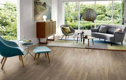 Lựa chọn sàn gỗ phòng khách để thêm hiện đại, sang trọng