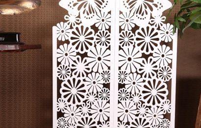 So sánh vách ngăn trang trí gỗ và vách ngăn trang trí nhựa