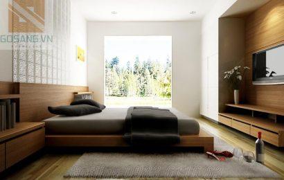 Giường tủ gỗ công nghiệp đáp ứng nhu cầu của cuộc sống hiện đại