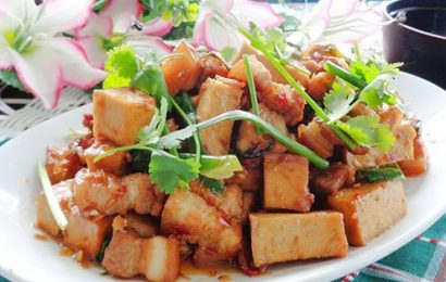 Cách làm đậu phụ xào thịt siêu ngon không thể bỏ qua