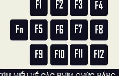 Chức năng phím F1 đến F12 là gì, không phải ai cũng biết