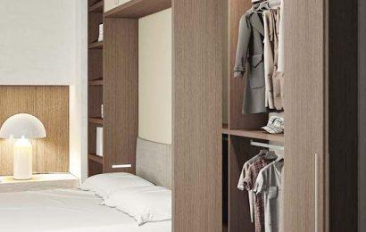 Các loại tủ gỗ đựng quần áo thông minh hiện đại