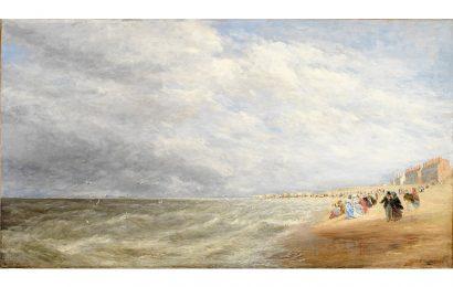 Những bức tranh vẽ phong cảnh bờ biển đẹp