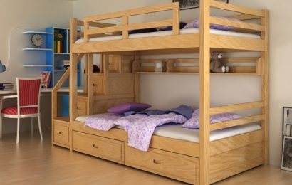 Chọn lựa giường gỗ 2 tầng hay giường sắt?