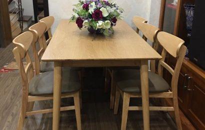 Mẹo lựa chọn ghế gỗ bàn ăn cho nhà bếp tiện nghi
