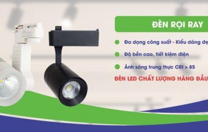 Đèn rọi ray – mẫu đèn trang trí shop không thể bỏ qua năm 2020