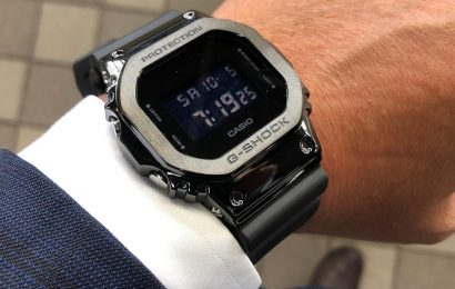 Điểm danh 3 mẫu đồng hồ G-Shock mặt vuông gây sốt trên thị trường