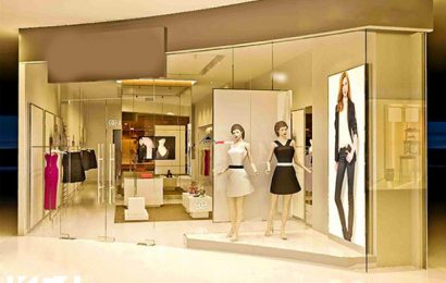 Thi công nội thất cửa hàng thời trang trọn gói