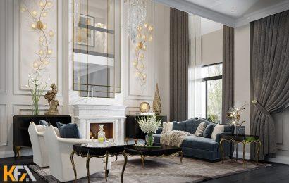 Nơi thi công nội thất kiến trúc Luxury tốt