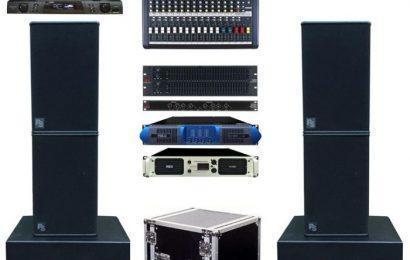 Địa chỉ mua dàn âm thanh hội trường TPHCM giá rẻ chính hãng
