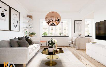 03 mẫu thiết kế nội thất chung cư nhỏ hiện đại bạn nên làm