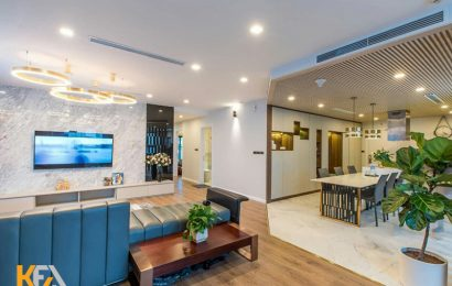Top 5 mẫu phòng khách liền phòng ăn hiện đại và sang trọng