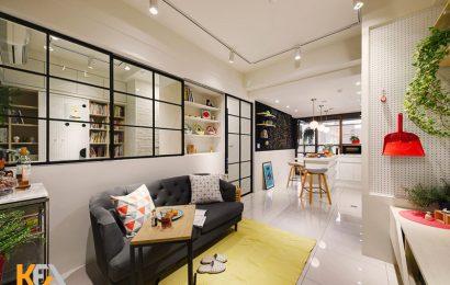 Mẫu thiết kế nội thất dành cho căn hộ chung cư dưới 50m2