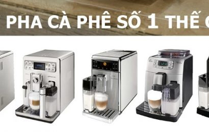Máy pha cafe mini tự động Saeco – Lưỡi xay gốm sứ pha cà phê ngon