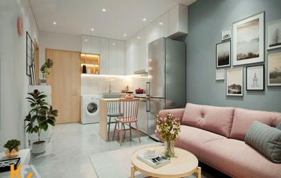 Lựa chọn tone màu cho nội thất chung cư hiện đại