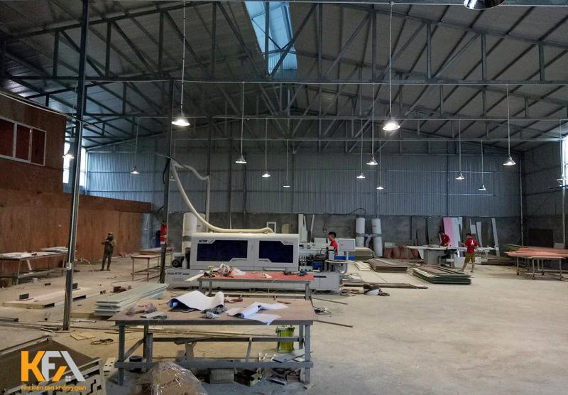 Xưởng thi công nội thất uy tín tại Hà Nội