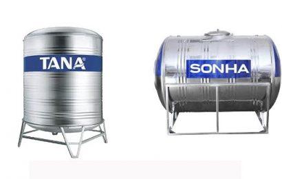 Nên mua bồn nước Tân Á Đại Thành hay Sơn Hà