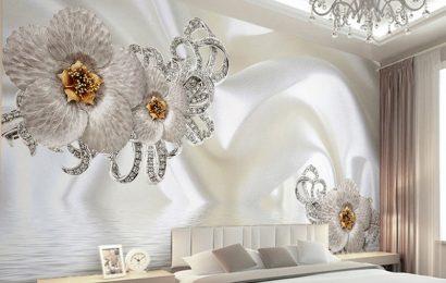 Những ý tưởng thiết kế nội thất phòng ngủ bằng giấy dán tường